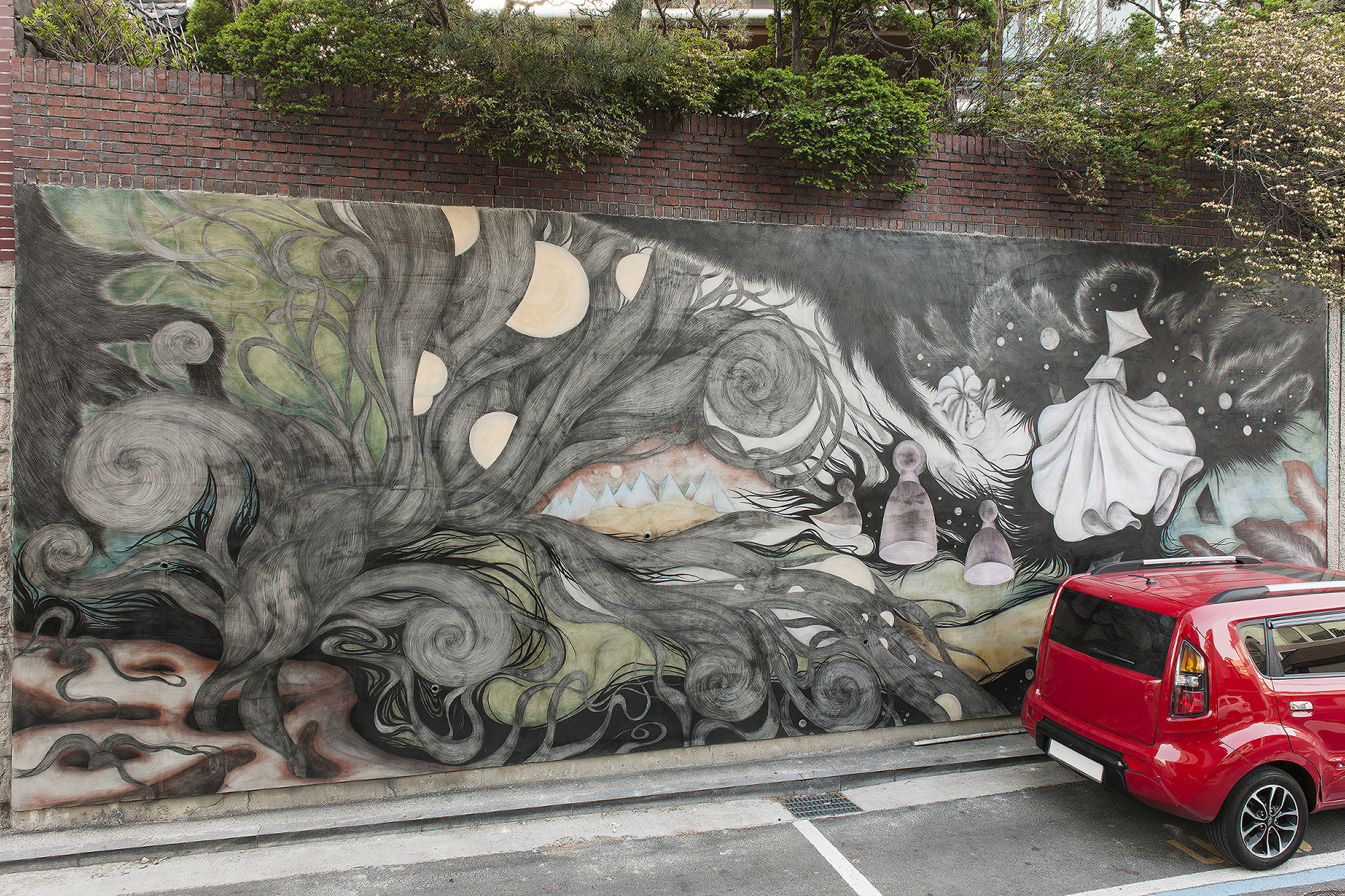 [15p2081] Wall painting_conta and charcoal_450×900cm_2015.jpg